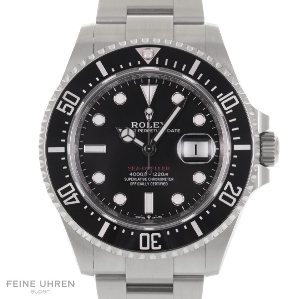 "Rolex Oyster Perpetual Sea-Dweller ""Single Red"""