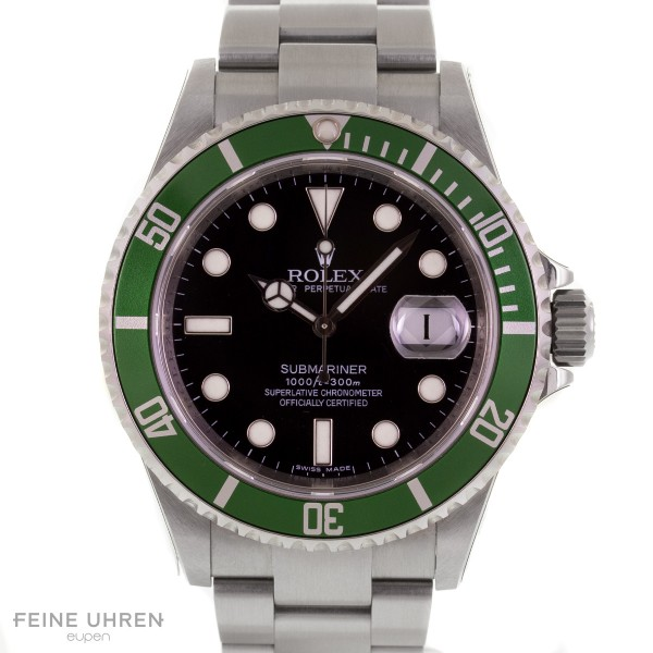 "Rolex Oyster Perpetual Submariner Date ""Kermit"""